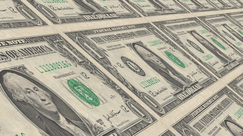 Курс доллара упал ниже 67 ру…