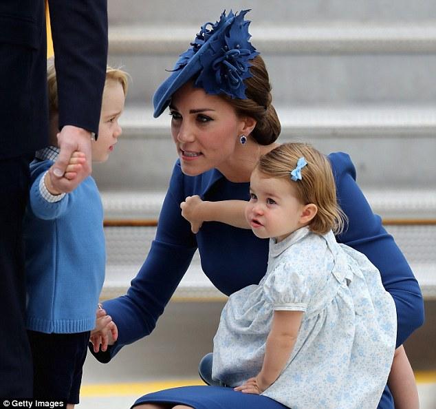 Как мило — Кэтрин, герцогиня Кембриджская в роли обычной мамы