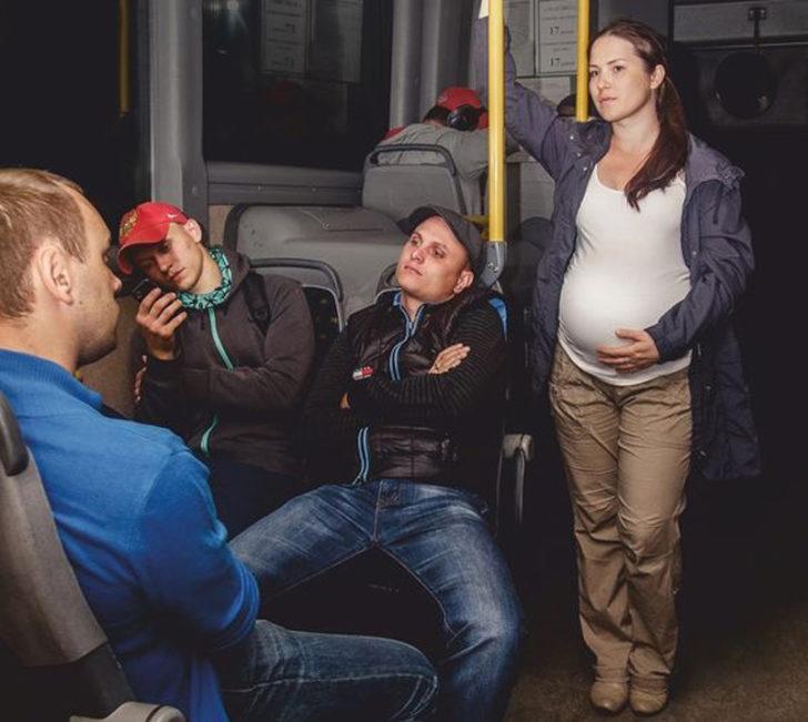 Реакция парня на беременную …