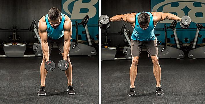 ДЕРЖИМ ФОРМУ. Тренировки для мужчин. Лучшие упражнения для задних дельт