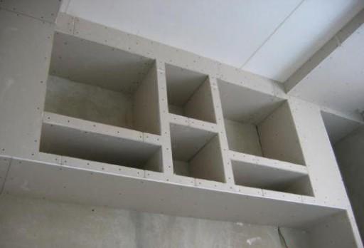 Делаем шкафы из гипсокартона своими руками: все тонкости и нюансы