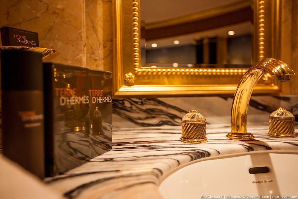 BurjAlArab27 Золото для шейхов и олигархов: самый дорогой номер в семизвездочном отеле Burj Al Arab