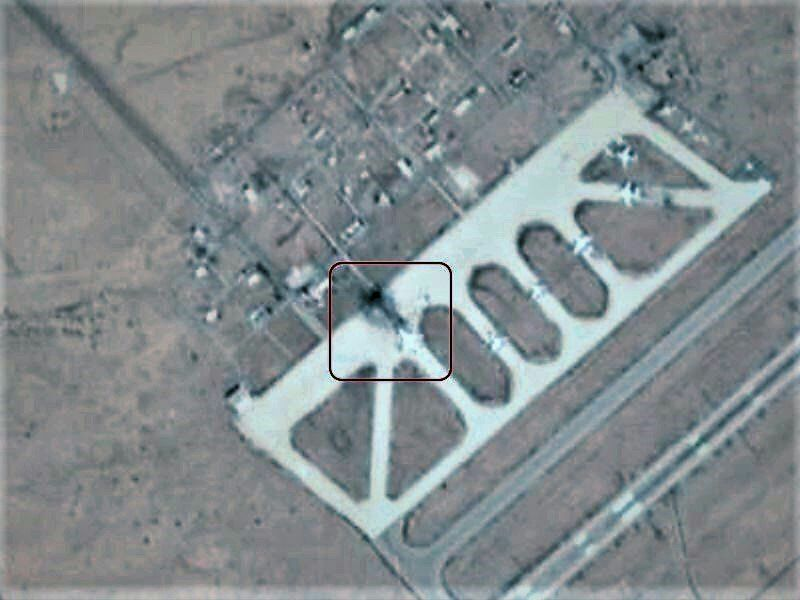 Последствия атаки на международный аэропорт Дамаска