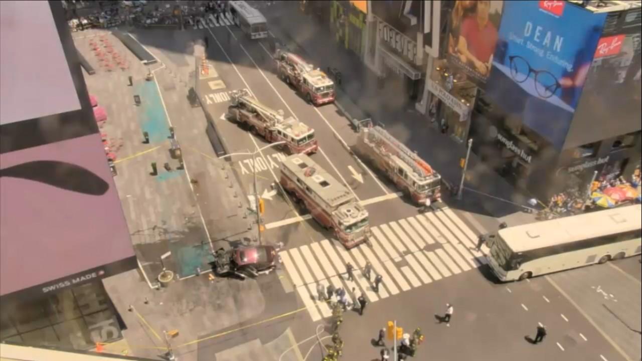 Теракт в Нью-Йорке на Таймс-Сквер видео с вебкамеры онлайн!