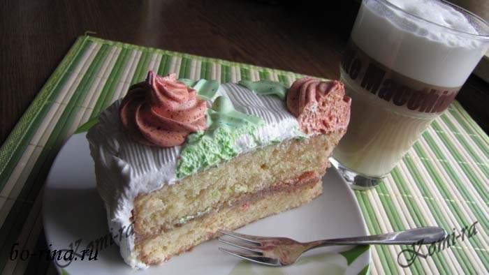 Торт «Ореховая сласть»