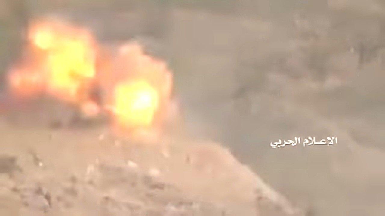 Момент подрыва танка Abrams в Йемене попал на видео