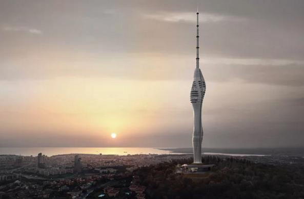 В Стамбуле показали футуристическую телебашню