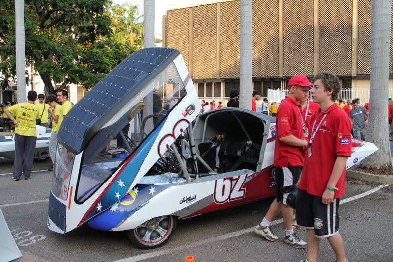 1614 Автомобили на солнечной тяге