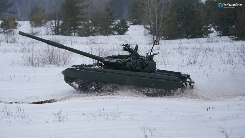 Украинский Т-64 образца 2017…