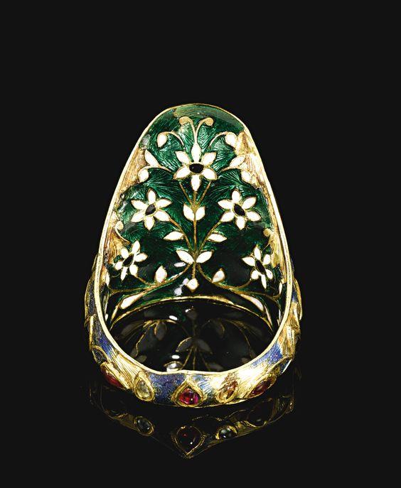 ЛАВКА ДРЕВНОСТЕЙ. Индийские мужские кольца 16-18 веков