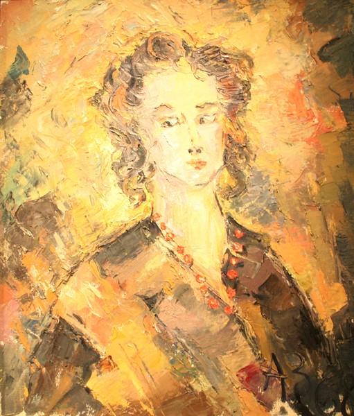 Фото Анатолий Зверев.Женский портрет.1968 г.