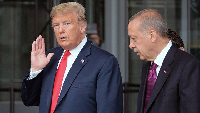"""Западные СМИ: """"В конфликте Трампа с Эрдоганом победит Путин"""""""