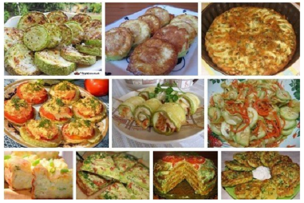 Шикарная подборка рецептов с кабачками