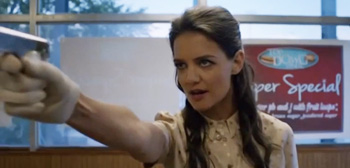 Katie Holmes is a Sweet Teacher & Vigilante in 'Miss Meadows' Trailer