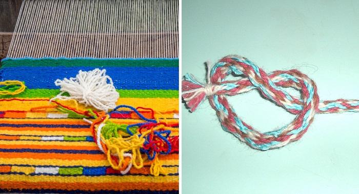 плетение на пальцах