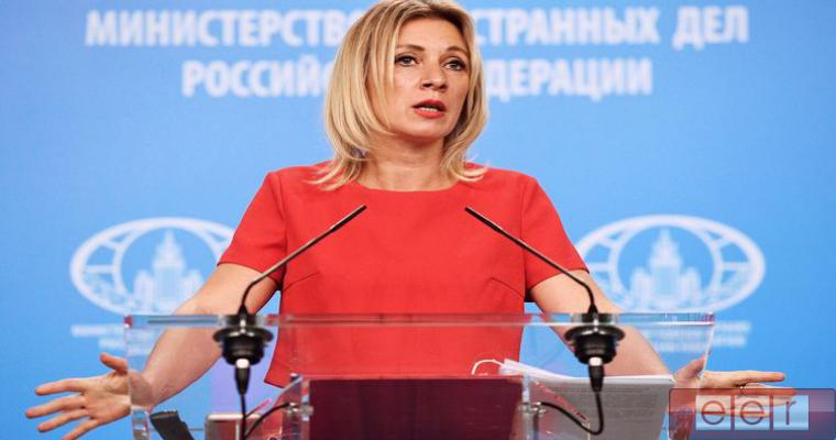 представитель МИДа РФ Мария Захарова