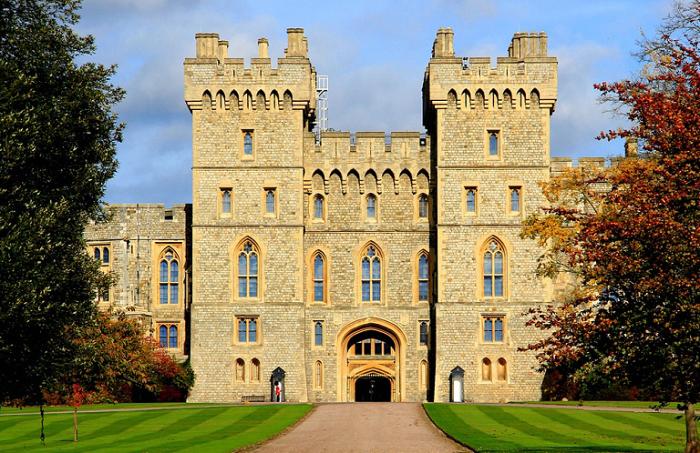 Виндзорский Замок, Англия.