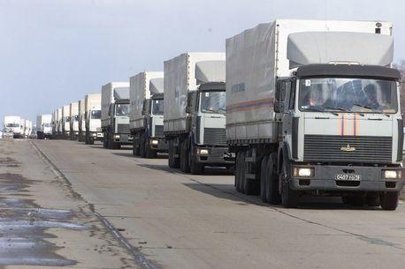 Россия отправит еще один гуманитарный конвой на Украину