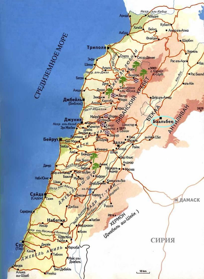 Древний Баальбек в Ливане, х…