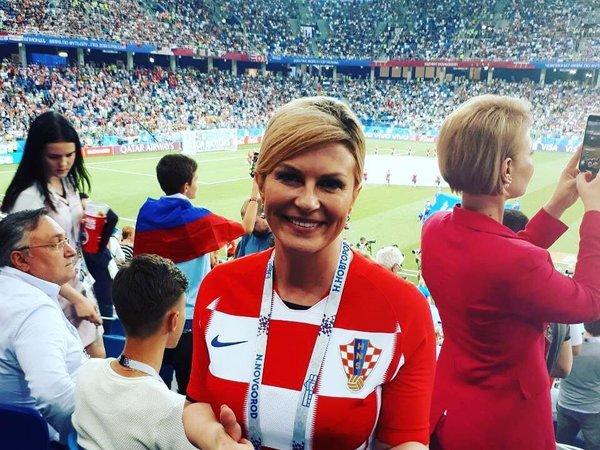 Колинда Грабар-Китарович — грудастый президент Хорватии и штатный сотрудник ЦРУ
