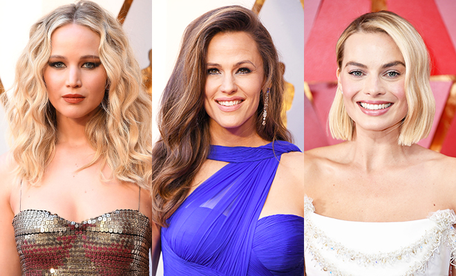 """5 бьюти-приемов, которые использовали звезды на """"Оскаре"""": ягодные губы, ассиметричные прически и другое"""
