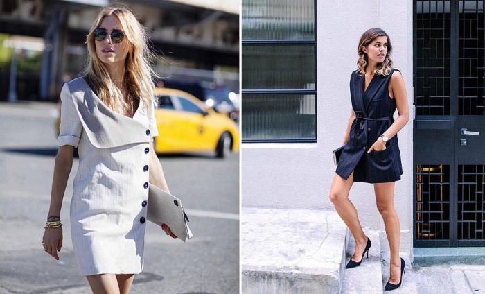 Платье-пальто выглядят очень стильно и сексуально.