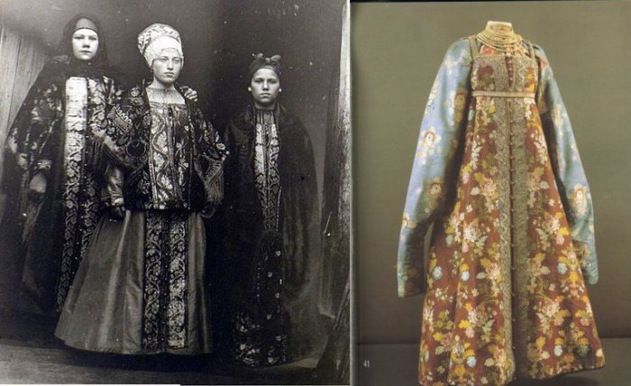 Праздничная одежда русских крестьян
