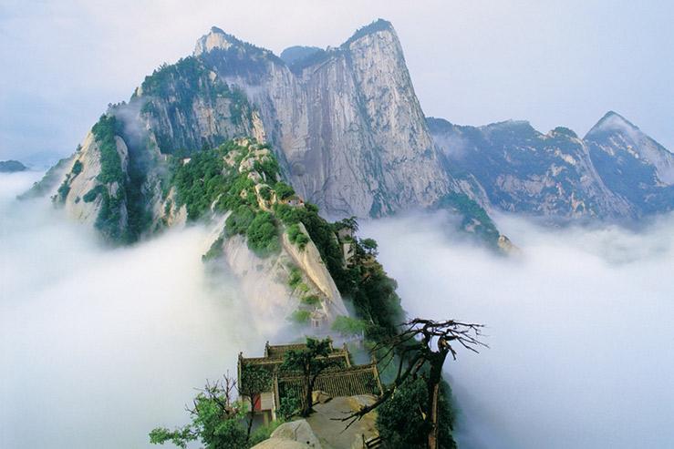 Гора ХуаШань (Hua Shan)