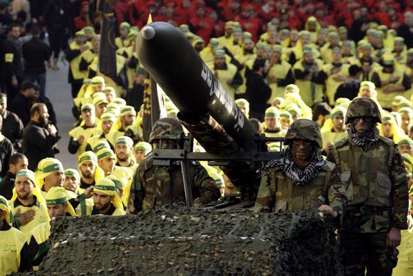 "Подразделения ""Хезболла"" на территории Сирии"