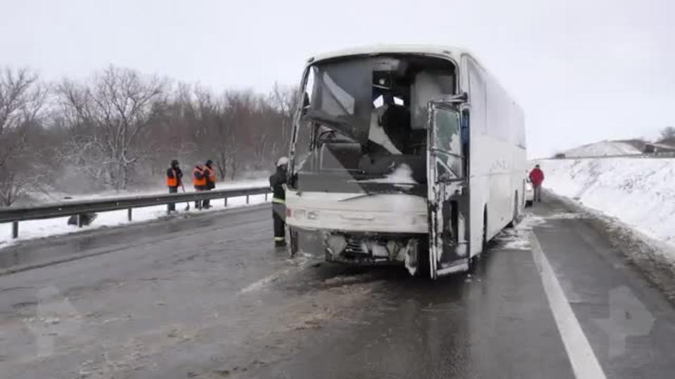 После ДТП с перевозившим украинцев автобусом возбуждено уголовное дело