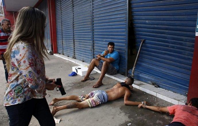 Фото года. Слезы, боль, радость и женщины-полицейские на ЧМ-2014