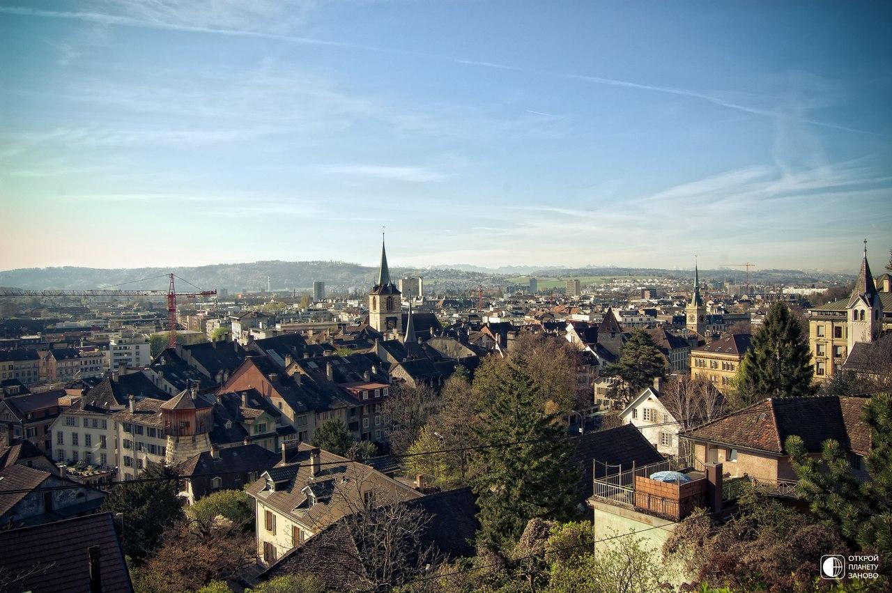 Биль - уединение и покой в Швейцарии