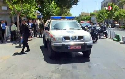 В Иране во время военного парада произошел теракт