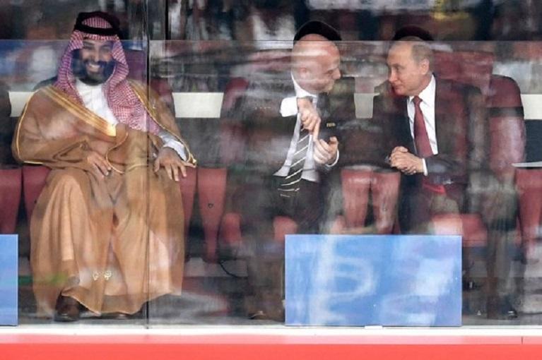 Как Путин реагировал на голы…
