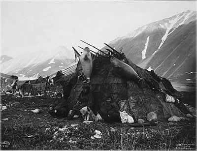 летняя хижина инуитов
