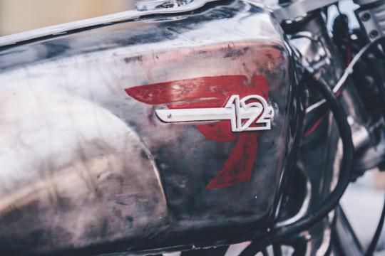 топливный бак, модифицированный от Kawasaki Z750