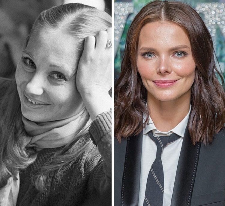 Знаменитые актрисы и их мамы в одном возрасте