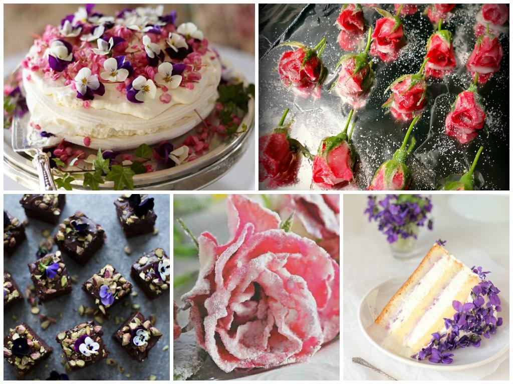 Цветы на десерт: все новое - это забытое старое