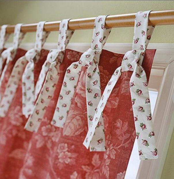 Как красиво повесить шторы своими руками 85