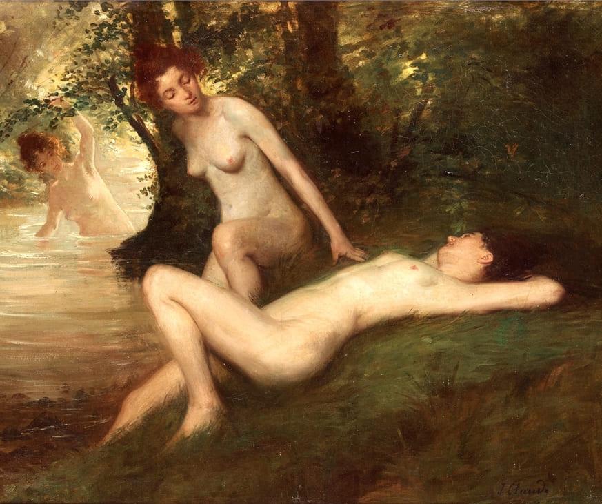 Французские художники и их картины