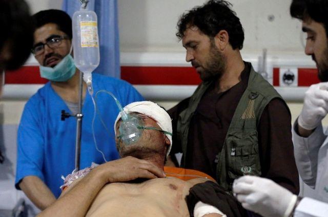 Взрывы на парламентских выборах в Афганистане