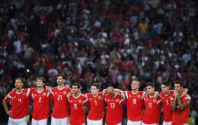 Песков рассказал, как Путин болел за российских футболистов