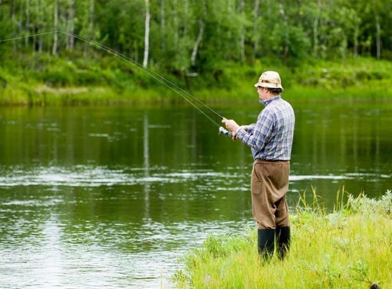 Ничего себе рыбалка (рассказ из сети)