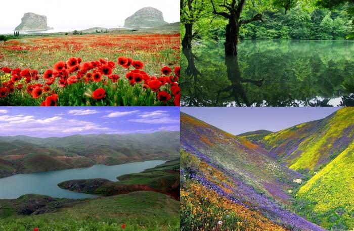 Красивые ландшафты Ирана