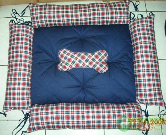 0楼:5_宠物床墊DIY~双面可用 反面打開加大