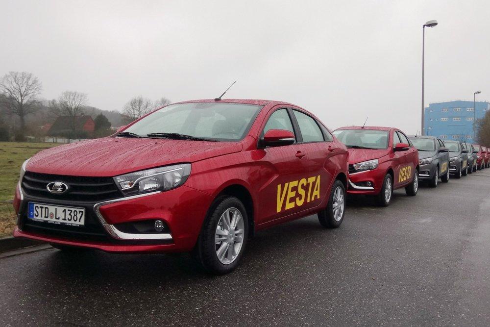 """В Германии Lada Vesta назвали """"шагом в современную эпоху"""""""
