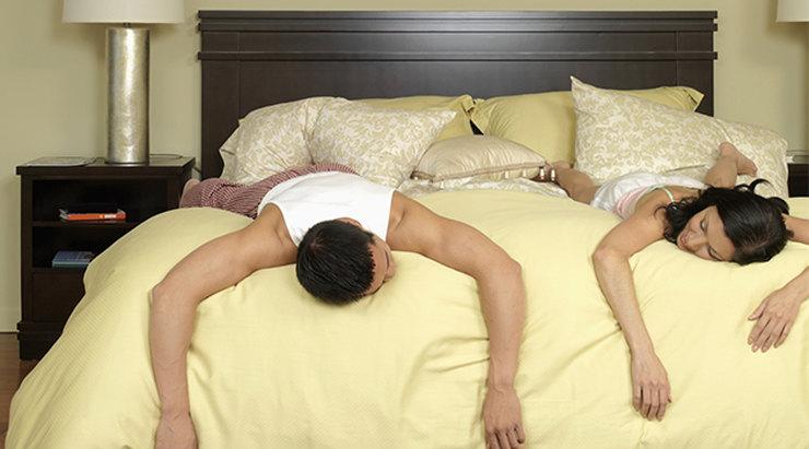Человек секс устал