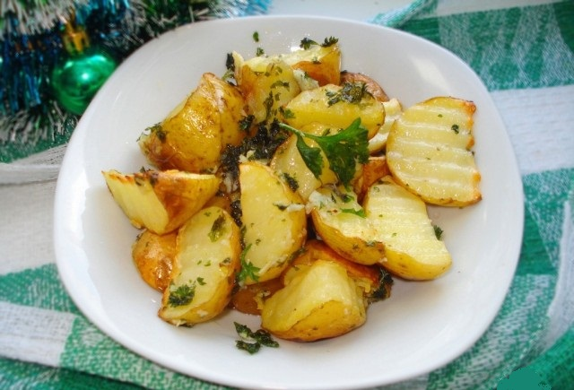 Картофель к праздничному столу. Быстро, вкусно, красиво