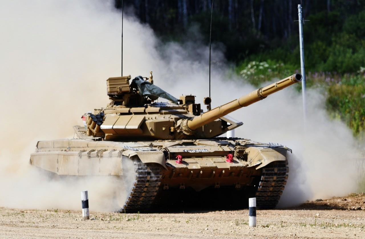 Всё спокойно: Российские танки заметили в Багдаде