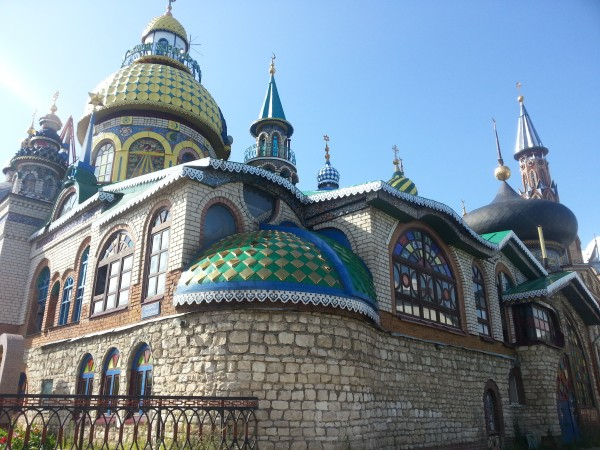 Храм всех религий в Казани. Как это было